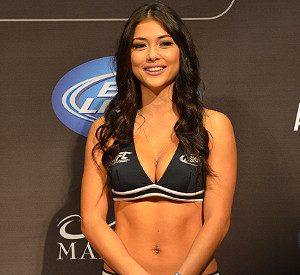 Image result for arianny celeste holding a card