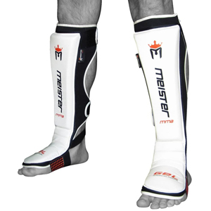 Meister Leather Shin Guards